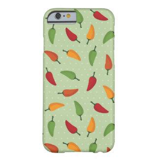 Chilli pepper pattern iPhone 6 case