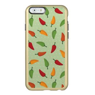 Chilli pepper pattern incipio feather® shine iPhone 6 case