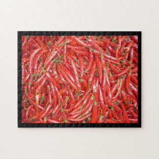 chilli red jigsaw puzzle