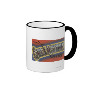 Chillicothe, Ohio - Large Letter Scenes Mugs