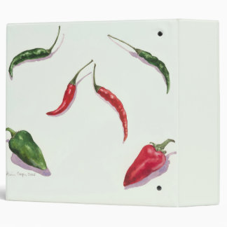 Chillies and Peppers 2005 3 Ring Binder