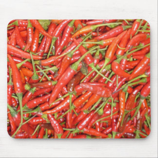 chillies red hot mouse pad