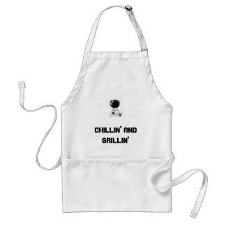 Chillin' and Grillin' Apron