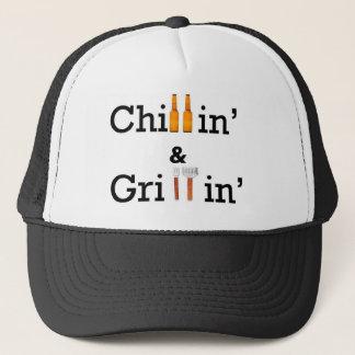 Chillin and Grillin Trucker Hat