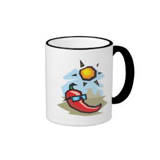 chillin chili pepper coffee mug