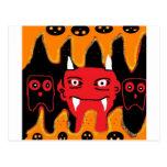 chillin del diablo postales