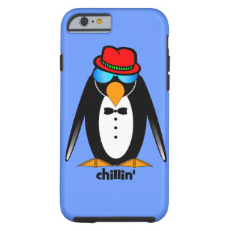 chillin del pingüino funda de iPhone 6 tough