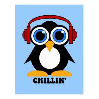 chillin del pingüino postales