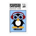 chillin del pingüino sello