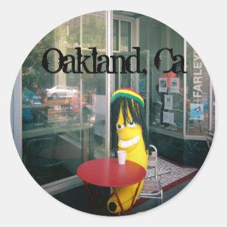 Chillin en la etiqueta de Oakland