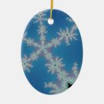 Chillin! Fractal Art Creations Christmas Ornament