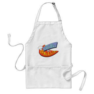 chillin' & grillin' adult apron