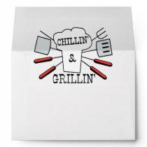 Chillin & Grillin BBQ Fun Envelope