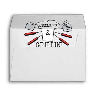 Chillin & Grillin BBQ Fun Envelope