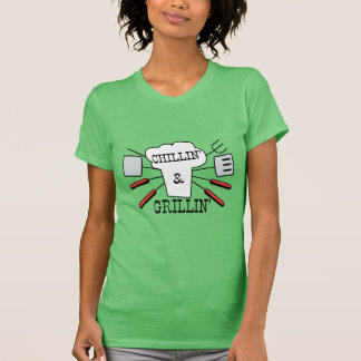 Chillin & Grillin BBQ Fun Tshirt