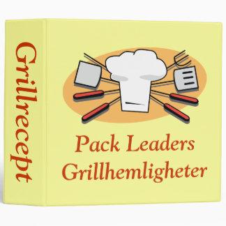 Chillin' & Grillin' Recipe Binder