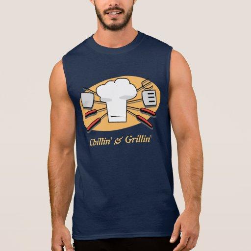 Chillin' & Grillin' Sleeveless T-shirts