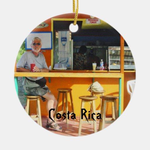 Chillin hacia fuera en Costa Rica Adornos