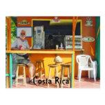Chillin hacia fuera en Costa Rica Tarjetas Postales
