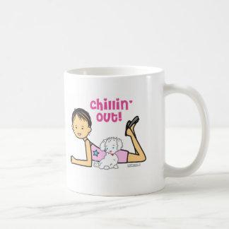 Chillin hacia fuera taza de café