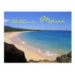 Chillin in Maui postcard