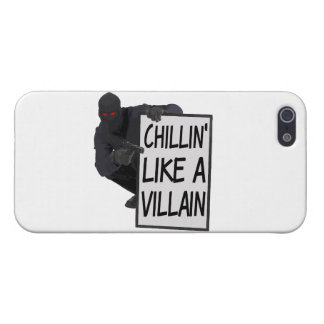 Chillin Like A Villain iPhone 5 Cover