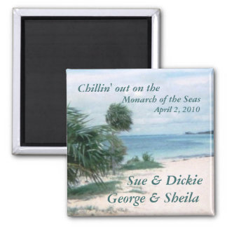 Chillin out customizable magnet