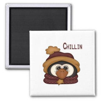 Chillin Penguin Magnet