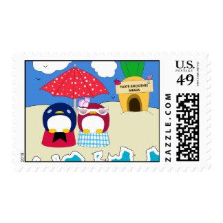Chillin' Penguins Stamps