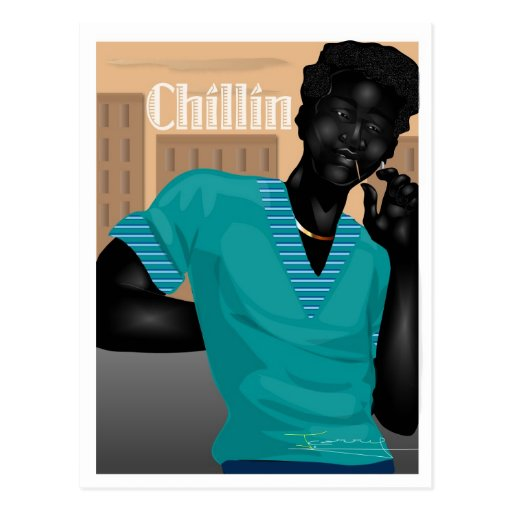 Chillin Post Cards