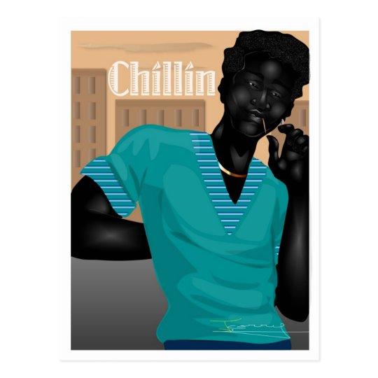 Chillin Postcard