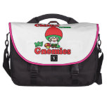 Chillin With My Gnomies Kawaii Gnome Toadstool Laptop Computer Bag