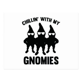 Chillin' With My Gnomies Postcards