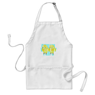 Chillin With My Peeps Adult Apron