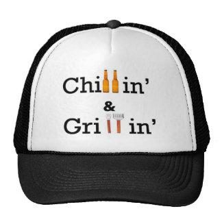 Chillin y Grillin Gorros