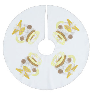 Chilling Camomile Tree Skirt