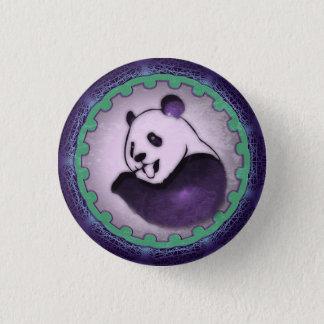 Chilling Chomping Purple Panda Button
