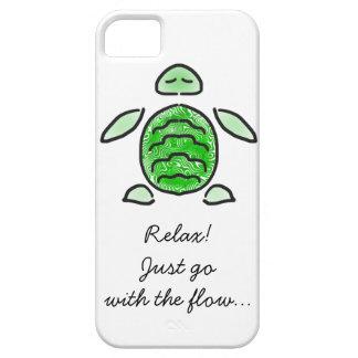 Chilling Cute Sea Turtle iPhone SE/5/5s Case