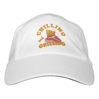 Chilling & Grilling custom name hat