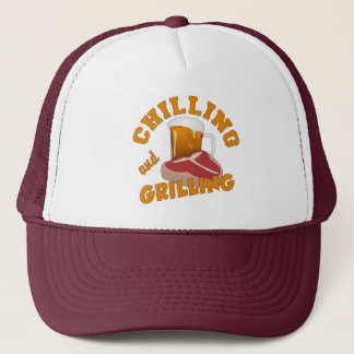 Chilling & Grilling hats
