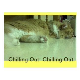 Chilling out card