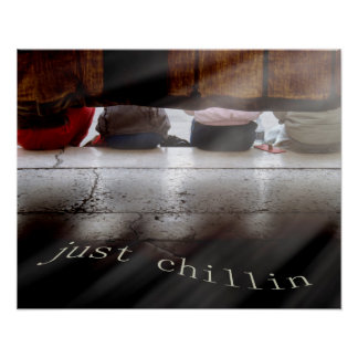 Chilling Out Poster