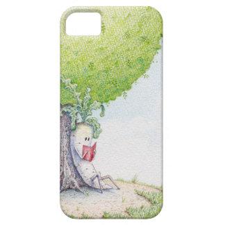 Chill'n de Dai-kun debajo de un árbol iPhone 5 Case-Mate Cárcasas