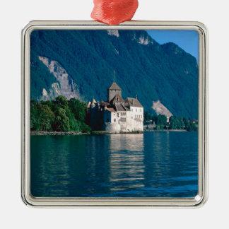 Chillon Castle Metal Ornament