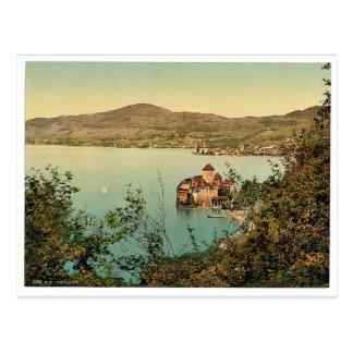 Chillon Castle, Montreux, Geneva Lake, Switzerland Postcard