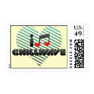 Chillwave Postage Stamp