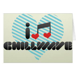 Chillwave Tarjeta De Felicitación