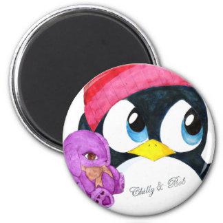 Chilly & Bob 2 Inch Round Magnet