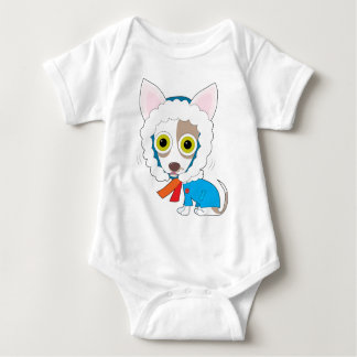 Chilly Chihuahua Baby Bodysuit