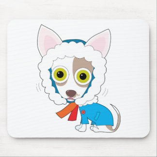 Chilly Chihuahua Mouse Pad